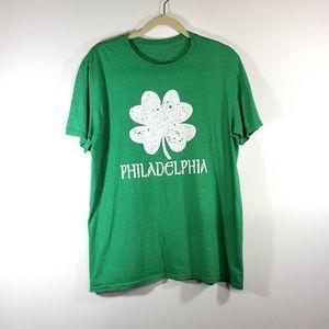 none Shirts - 🦉 St. Patricks Day Philadelphia TShirt